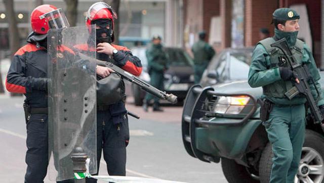 Ertzaintza y Guardia Civil