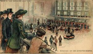 Bolsa de Nueva York a comienzos del siglo 20