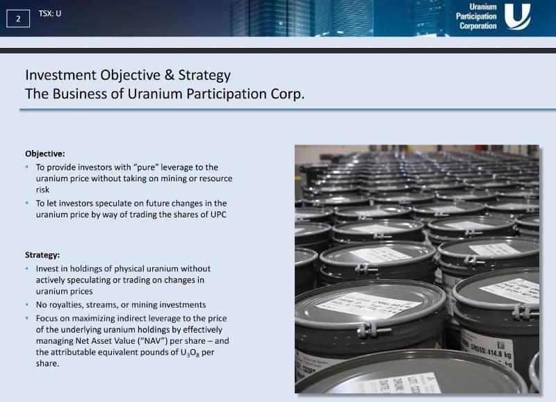 Uranium Participation Corp.