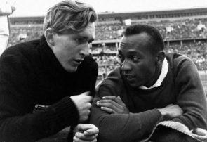Jesse Owens y Lutz Long