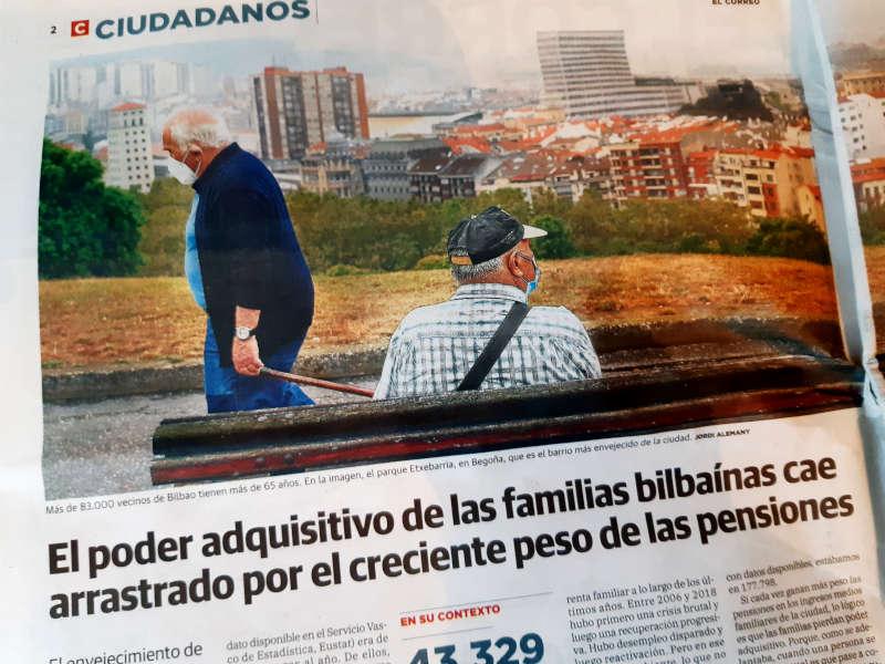 Bilbao envejece